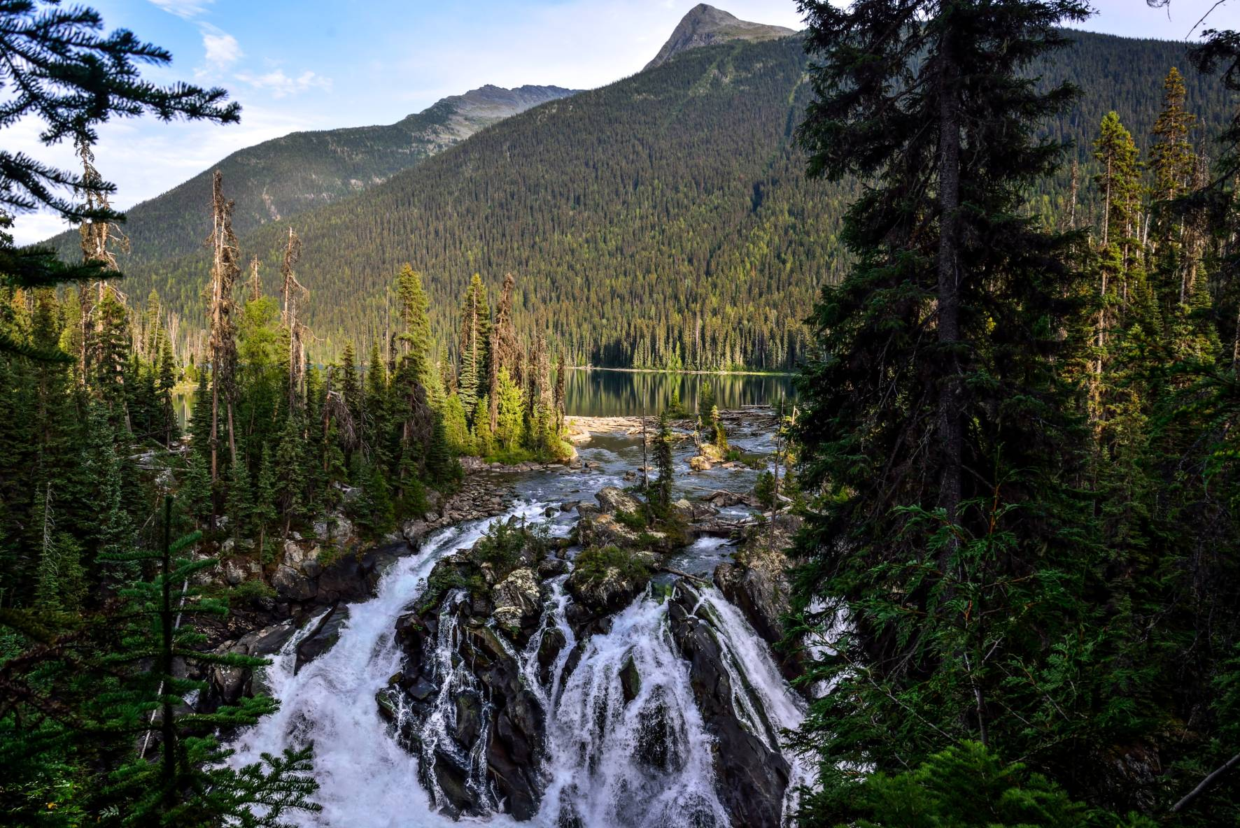Ghost Lake Falls, Cariboo