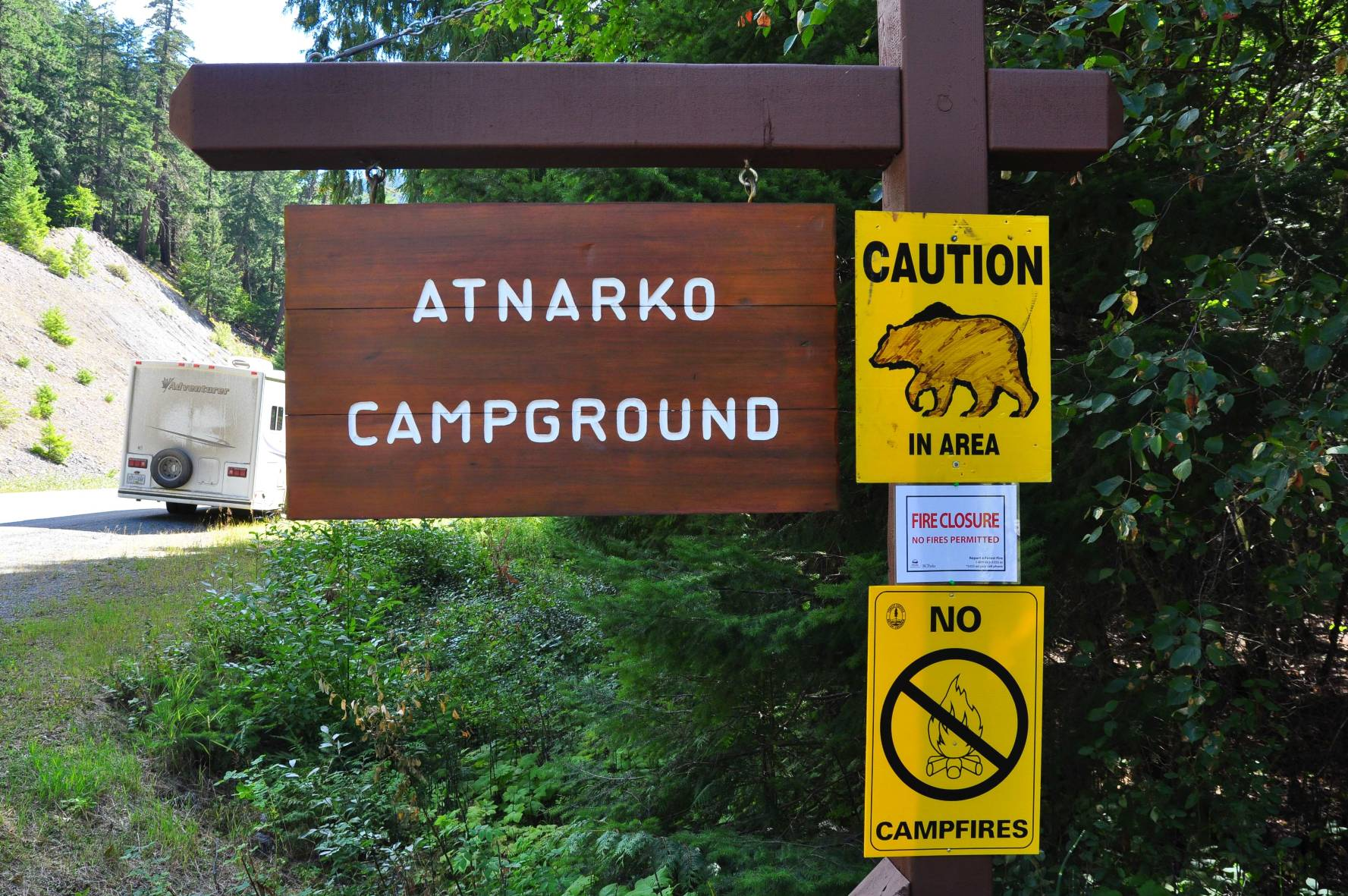 Atnarko Campground Tweedsmuir Park