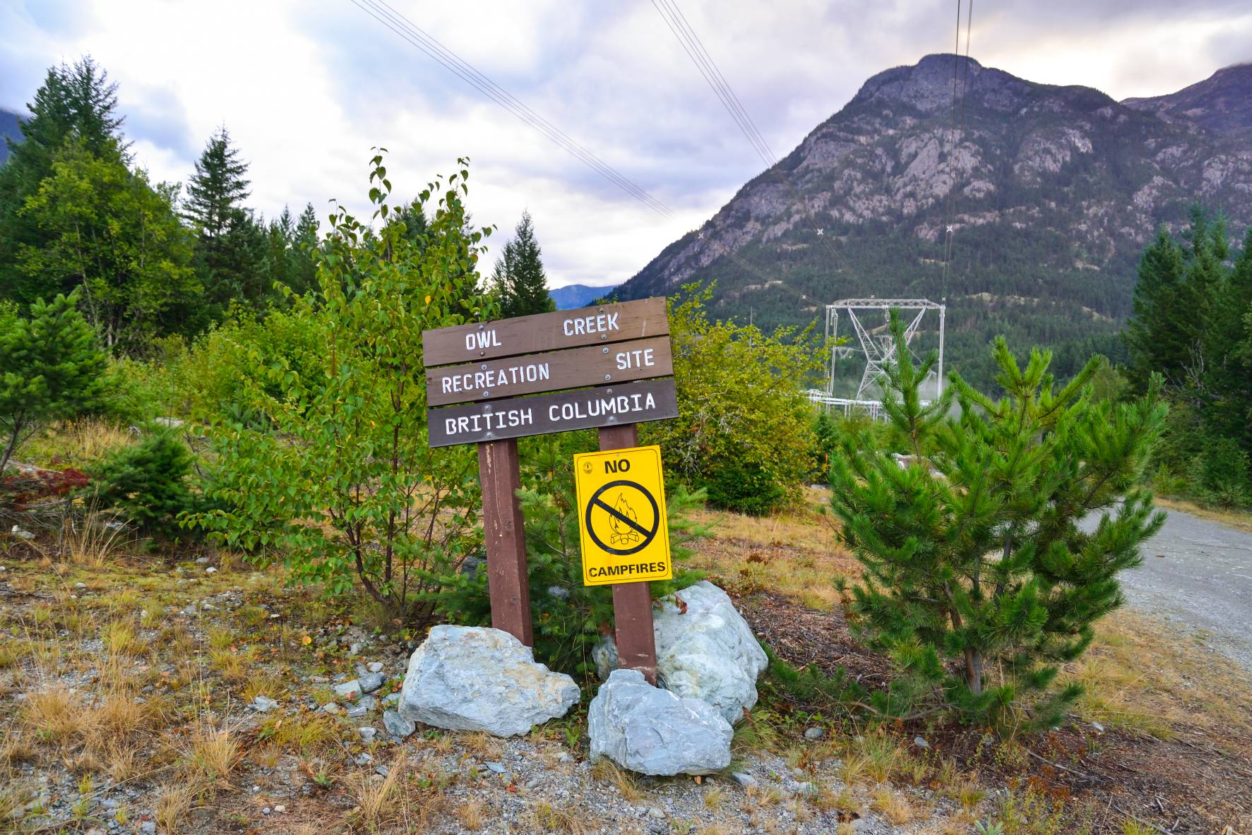 Owl Creek Recreation Site bei Pemberton