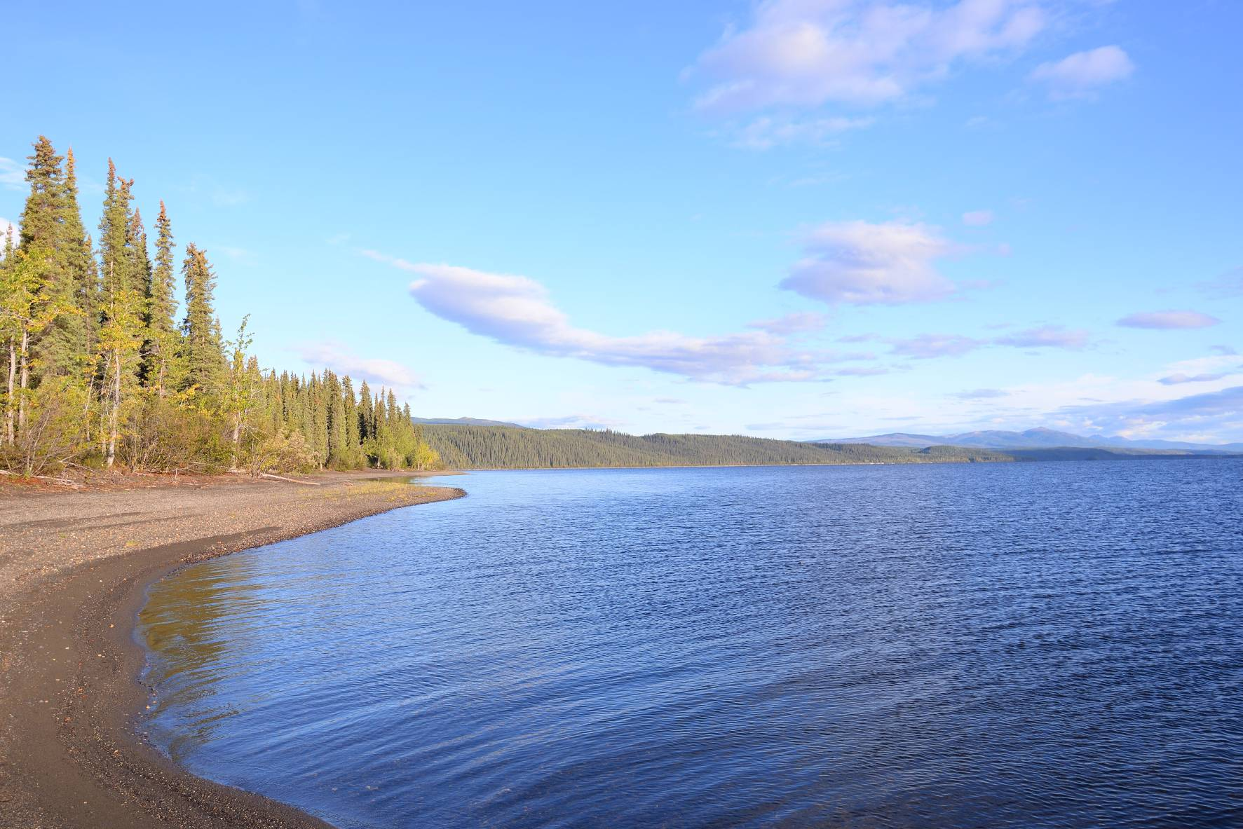 Frances Lake Campground