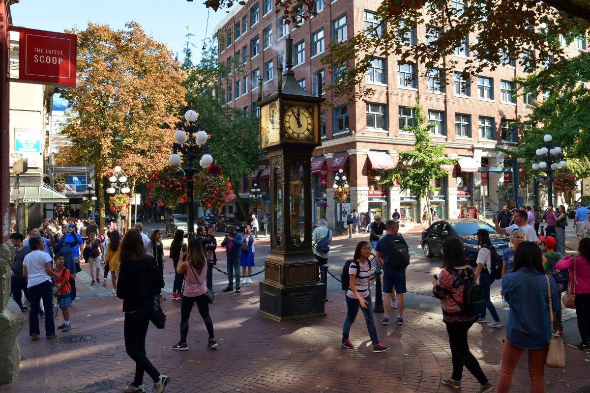 Steamclock Downtown